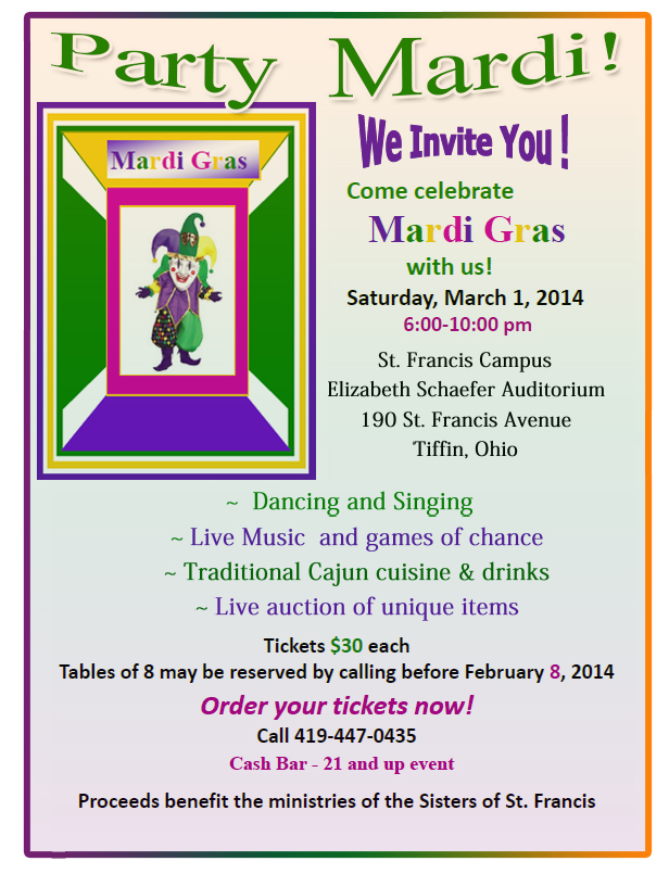Mardi Gras Portrait FLIER new