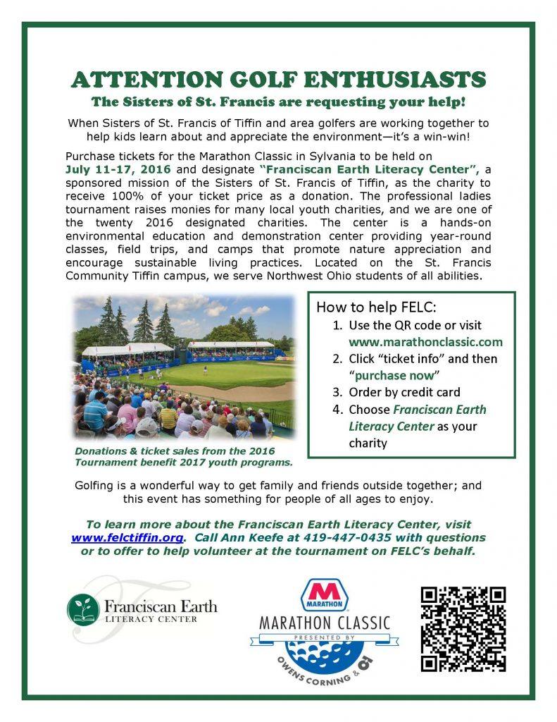 Marathon Golf Classic Fundrasier for FELC